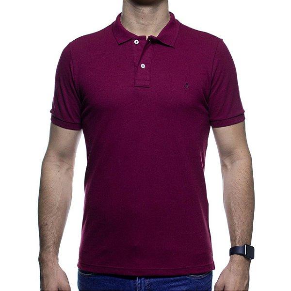 Camisa Polo King e Joe Vinho Basica