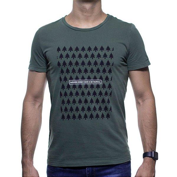 Camiseta Malha Sergio K Paradise Pine