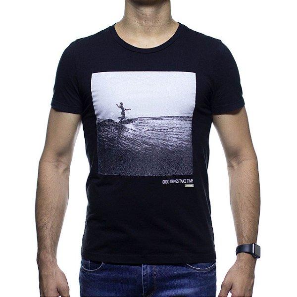 Camiseta Malha Sergio K Surf