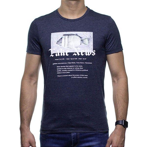Camiseta Malha Sergio K Fake News