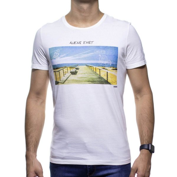 Camiseta Malha Sergio K Alien