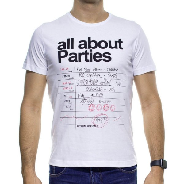 Camiseta Malha Sergio K All About Parties