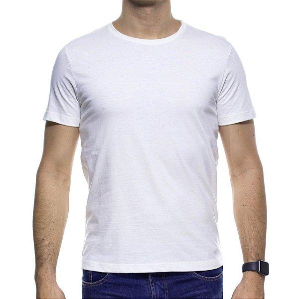 Camiseta Malha Sergio K Basica Off White
