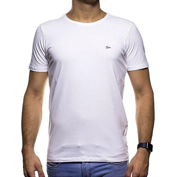 Camiseta de Malha Urbô Branca Básica