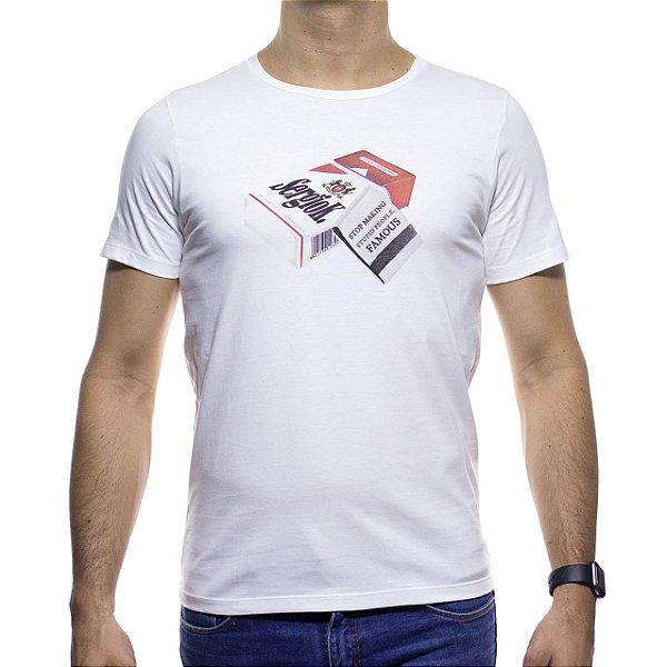 Camiseta Malha Sergio K Cigarro Malboro