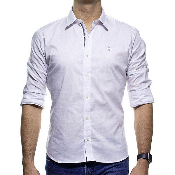 Camisa Social Sergio K Branca Basica Slim Fit