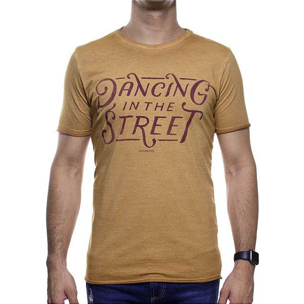 Camiseta Malha King e Joe Marrom Dancing In The Street