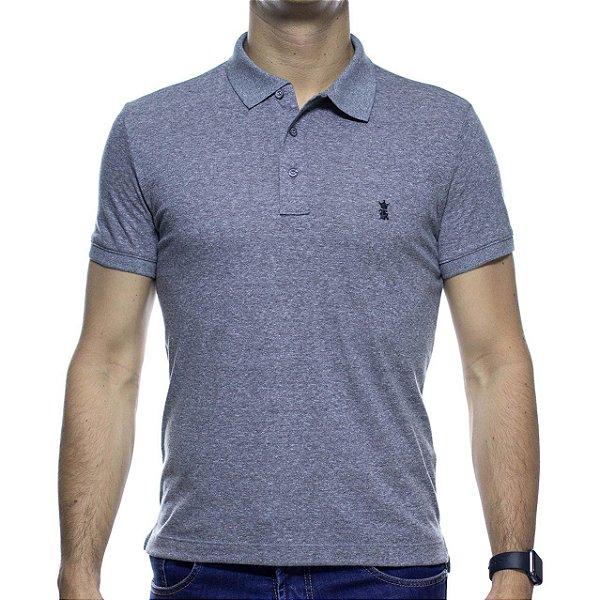 Camisa Polo Sergio K Cinza Basica