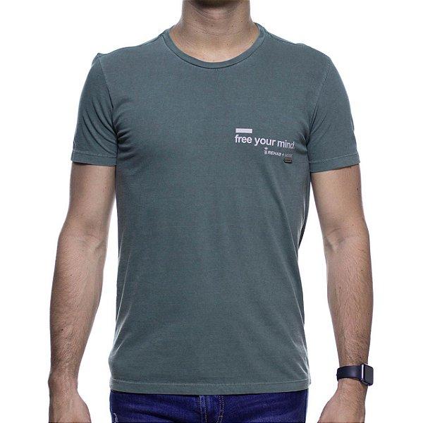 Camiseta Malha Sergio K Drinks Mind Vodka
