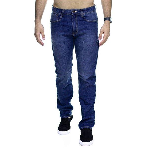 Calça Jeans Calvin Klein Tradicional Escura Straight