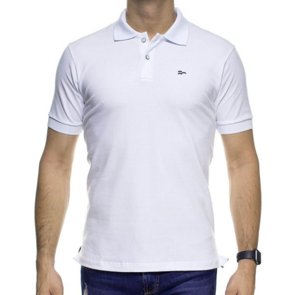 Camisa Polo Urbô Confort Branca