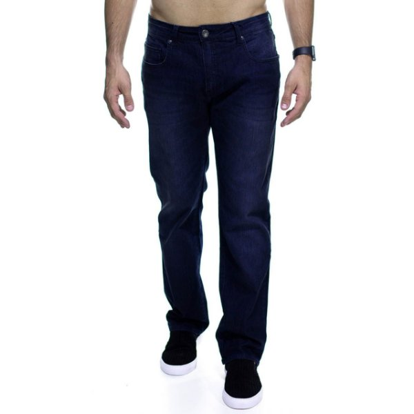 Calça Jeans VR Marinho Tradicional Straight