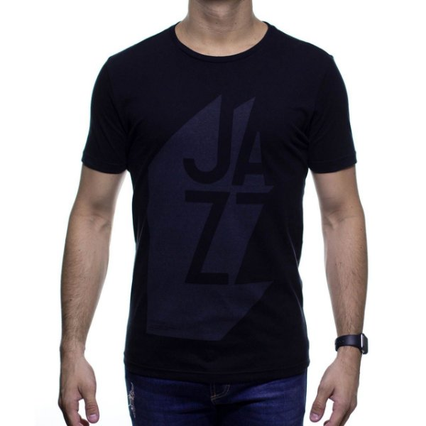 Camiseta Malha King e Joe Preta Jazz