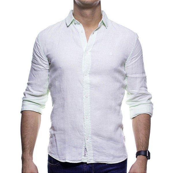 Camisa Social King e Joe Verde Linho