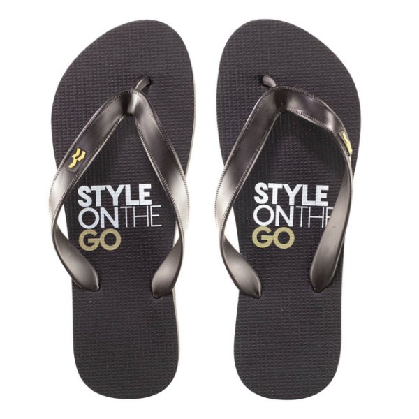Chinelo Urbo Style On The Go Gold