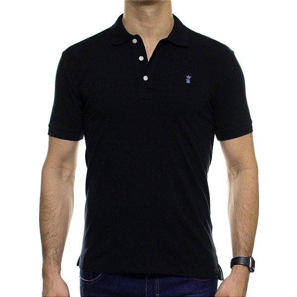Camisa Polo Sergio K Basica Preta