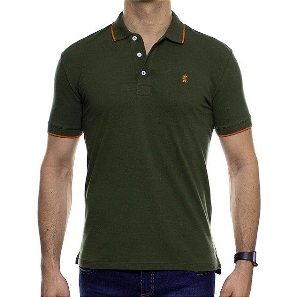 Camisa Polo Sergio K Drinks Verde Musgo