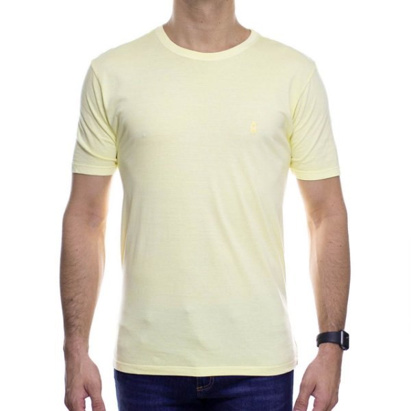 Camiseta de Malha Ankor Basica Amarela