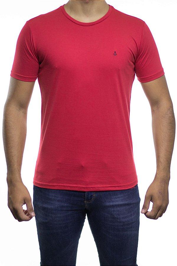 Camiseta Malha King e Joe Basica Vermelha