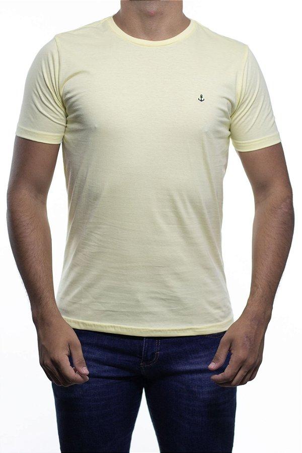 Camiseta Malha King e Joe Basica Amarela