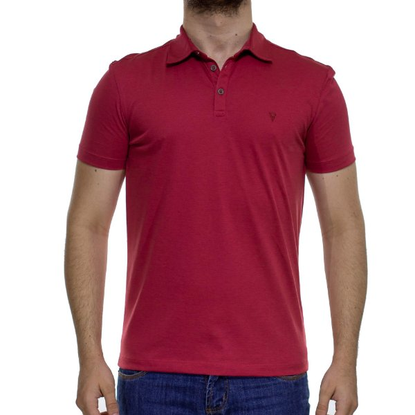 Camisa Polo VR Algodão Pima Vermelha Basica