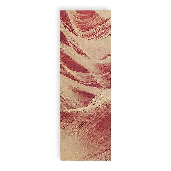 Quadro de Madeira - Sand Texture - Pink