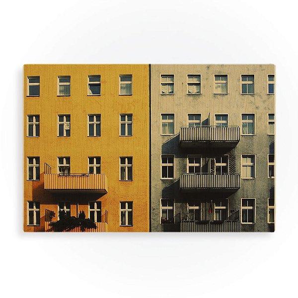 Quadro de Madeira - Blocks