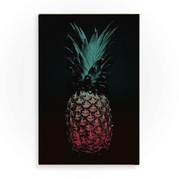 Quadro de Madeira - Pineapple