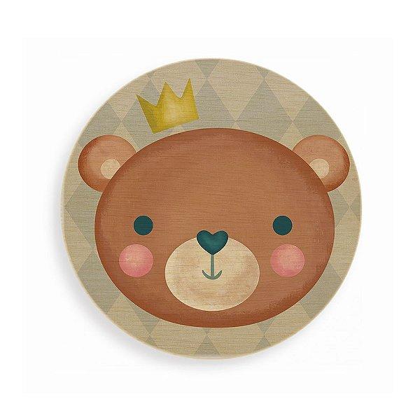Quadro de Madeira - Urso