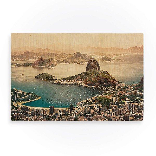 Quadro de Madeira - Rio de Janeiro