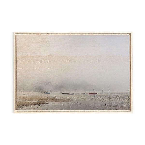 Quadro de Madeira - Neblina