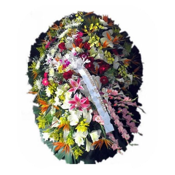 U - Coroa de Flores Luz Divina