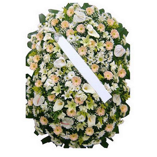 T - Coroa de Flores Ternura