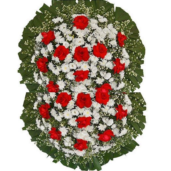 R - Coroa de Flores Saudades Eterna