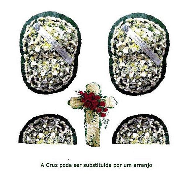 Z1- Flores para Velório - Conjunto Luxo