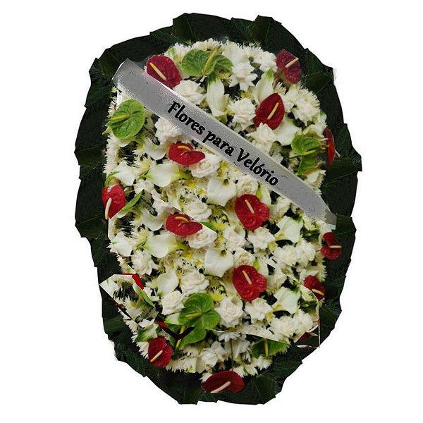 P - Coroa de Flores Gratidão