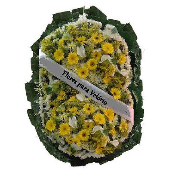 U - Coroa de Flores Lembrança