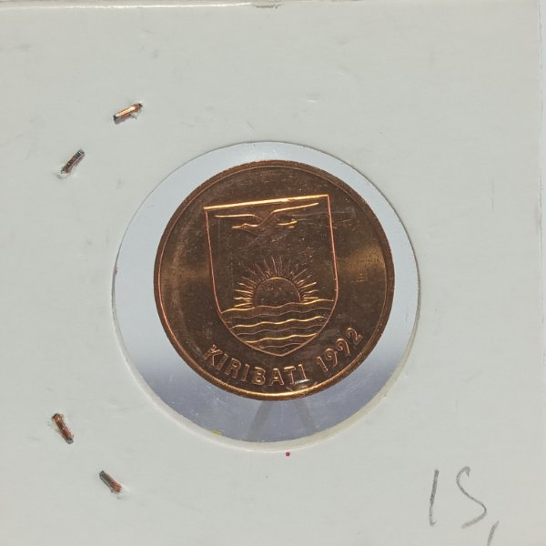 Moeda do Kiribati - 2 cents - 1992