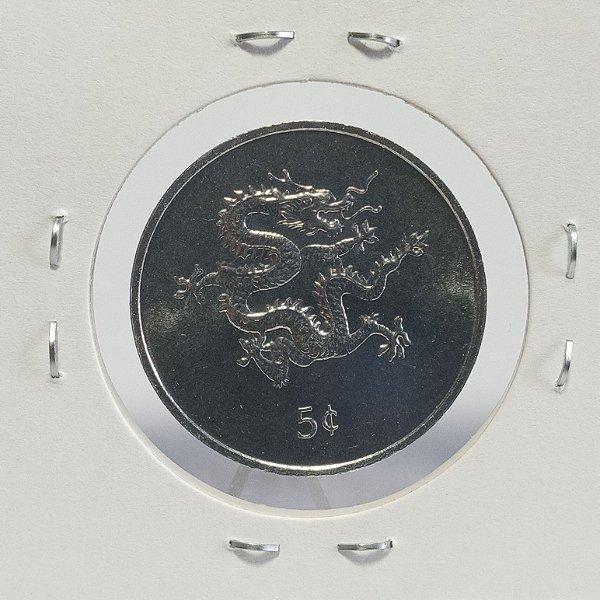 Moeda da Libéria -2000 - 5 Cents