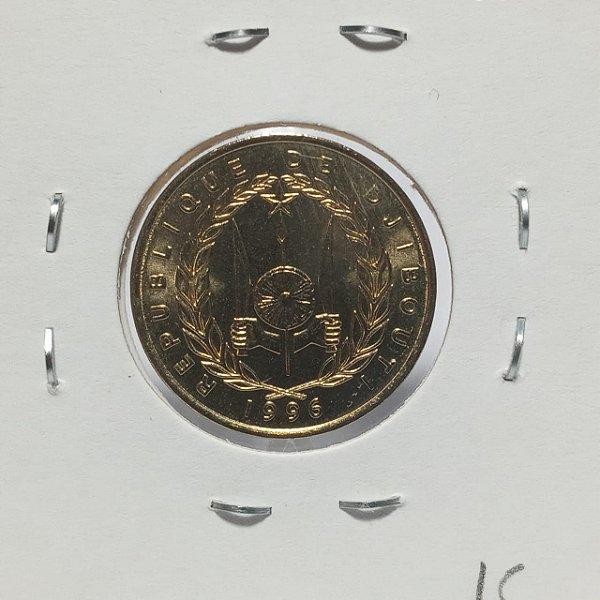 Moeda do Djibuti - 1996 - 10 Francos