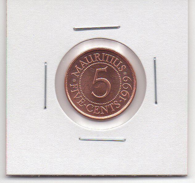 Moeda das Ilhas Maurício - 1999
