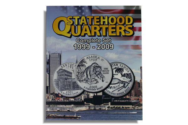 Álbum para Moedas de Quarter Dollar EUA - Série Estados