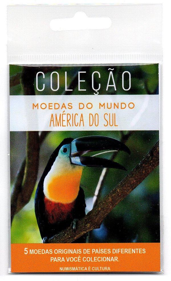 5 Moedas de Países Diferentes da América do Sul