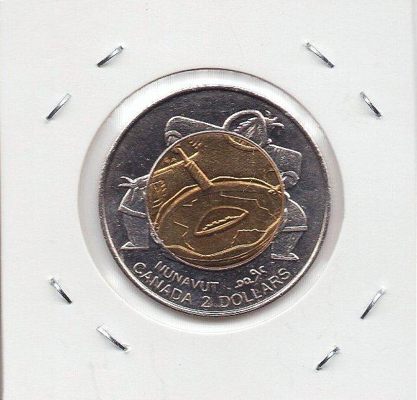 Moeda do Canadá - 2 Dólares - 1999