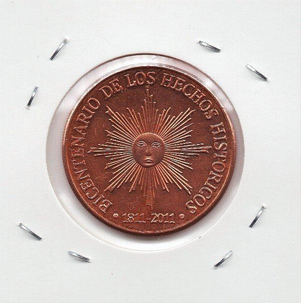 Moeda do Uruguai - 50 pesos - 2011