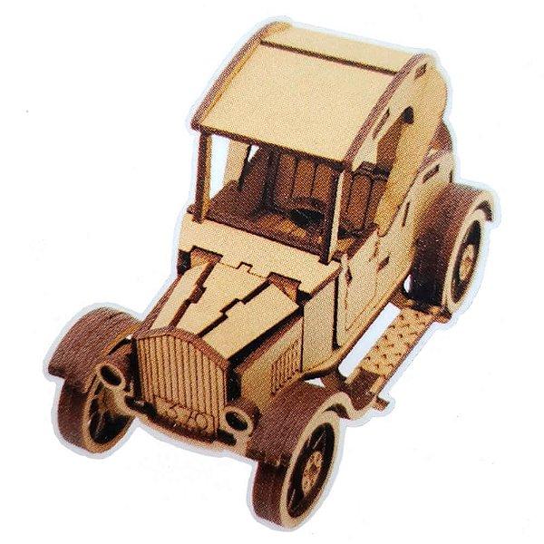 Quebra Cabeça De Madeira Carros 3D Ford T