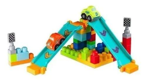 Blocos de montar Brinquedo De Montar PISTA  2 CARROS 40 PCS