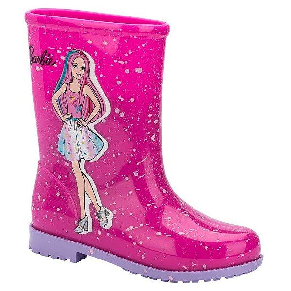 Galocha infantil Bota Infantil Barbie Grendene Kids