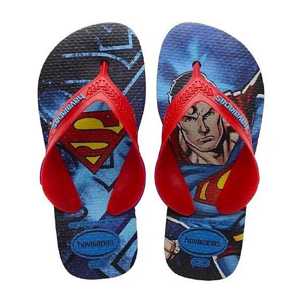 Havaianas Infantil Top Marvel Superman Chinelo Original