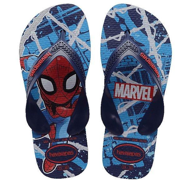 Havaianas Infantil Homem Aranha Marvel Max Chinelo Original